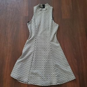 Monteau high neck dress, small